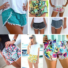 Fashion Women Lady's Sexy Hot Pants Beach Summer Casual Shorts High Waist Short