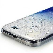 3D Raindrop Ultra Thin Clear Hard Back Case Cover For Samsung Galaxy S4 i9500