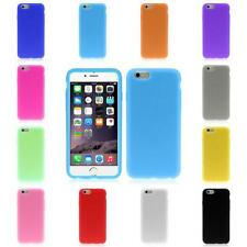 For iphone 6 6G 4.7Inch New Rubber Silicone Soft Slim Gel Skin Bumper Case Cover