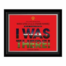 Personalised Manchester United Old Trafford I Was There Photo Souvenir
