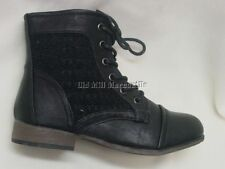 Child's Girls size Victorian granny Vintage old west style black boot sizes 10-4
