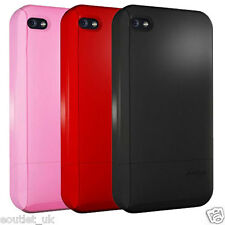 Hard Candy Cases candy Slider Soft Touch Case Cover for Apple iPhone 4 NEW