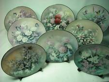 Choose ONE OR MORE Plates THE JEWELS OF THE FLOWERS Knowles Butterfly Plate