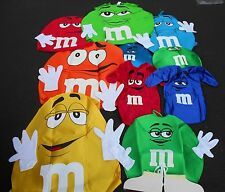 m & m HALLOWEEN COSTUMES PADDED FOAM BODY COLORS INFANTS-ADULTS CLEARANCE