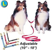 Swivel Adjustable Double Dog Leads - Large - PTADDL3 - walk two dogs at once
