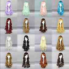 Newest Fashion Women Girl Wavy CurlyLong Hair Full Cosplay Party Sexy Lolita wig