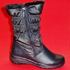 NEW Women's TOTES RUBY Black Winter/Rain Faux Fur Insulated Waterproof Boots