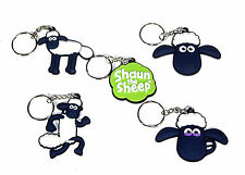 SHAUN THE SHEEP KEYRINGS AVAILABLE IN VARIOUS DESIGNS
