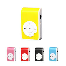 32GB Digital Mini Clip Metal USB MP3 Player Support Micro SD TF Card Music Media