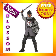 CK28 Dragon Slayer Medieval Knight Kids Boys Fancy Dress Party Halloween Costume