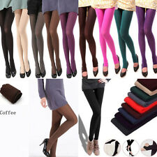 Fashion Women Soild Velvet Opaque Warm Soft Pantyhose Tights Stockings Socks