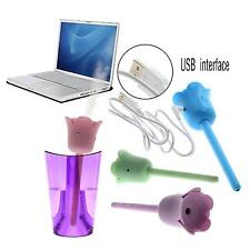 Flower Shaped USB Bottle Cup Air Clean Moist Humidifier Atomizer Home Car Office