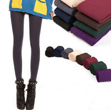 Women Lady Warm Winter Thick Skinny Slim Footless Leggings Stretch Pants New T