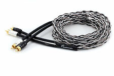 KnuKonceptz Krux Kable 2 Channel 3D OFC Twisted Pair RCA Cable 1/2M to 5M length