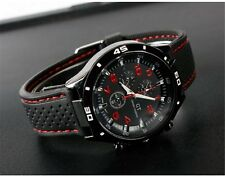 Fashion Mens Army Style Stainless Steel Military Sport Analog Quartz Wrist Watch