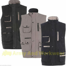 Mens Multi Pocket Peach Touch Casual Gilet Bodywarmer Fishing Vest Waistcoat