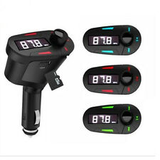 Car Kit FM Transmitter Modulator Wireless MP3 Player USB SD MMC LCD + Remote