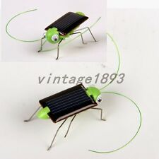 Solar Powered Cricket Grasshopper Educational Toy Children Teaching Gadgets Gift