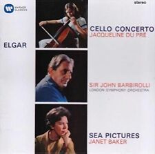 Elgar:cello Cto/sea Pictures/overture - Janet Baker Compact Disc