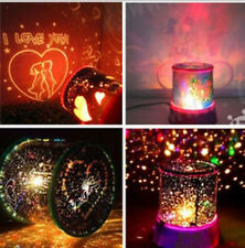 Romantic Kids Gift Cosmos Star Master Sky Starry Night Projector LED Light Lamp