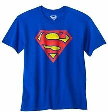 Blue Superman Logo Youth's Official Licensed T-Shirt