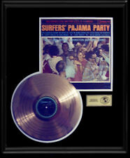 BRUCE JOHNSTON SURFERS' PAJAMA PARTY RARE GOLD RECORD  DISC LP ALBUM BEACH BOYS