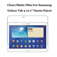 "Clear/Matte Screen Protector Film Lot For Samsung Galaxy Tab 3 10.1"" P5200 P5210"