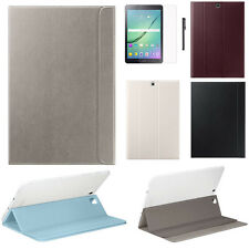 """Flip Leather Stand Skin Case For Samsung Galaxy Tab S2 9.7"""" T810 T815 +Film +Pen"""