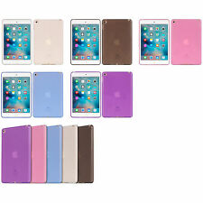 *Choose 1* Clear TPU Candy Cover Carrying Case For APPLE iPad mini 4 WiFi 3G 4G