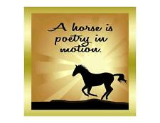 Custom Made T Shirt Horse Is Poetry In Motion Beautiful Silhouette Sun Rays