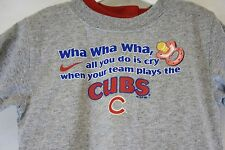 NEW Infant Toddler 3 piece Chicago Cubs Grey Red Blue Baseball Shirt Pants MLB