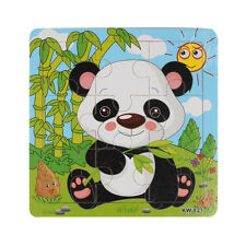 Wooden Animals Jigsaw Toys For Kid Child Education Learning Puzzle Toys Discount