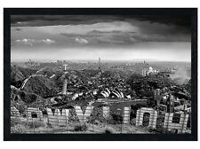 New Black Wooden Framed One Too Many Drinks Thomas Barbey Poster