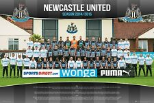 Newcastle United Football Club 2014/15 Team Photo Poster 91.5x61cm