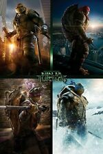 Teenage Mutant Ninja Turtles Movie Character Quad TMNT Poster 61x91.5cm