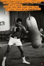 New Don't Quit Muhammad Ali Poster