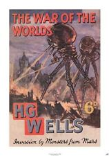 New War of the Worlds H.G. Wells Poster