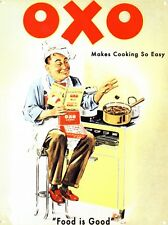 New Makes Cooking So Easy Oxo Cubes Metal Tin Sign
