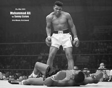 New History in the Making Muhammad Ali Vs Sonny Liston Mini Poster