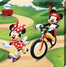 New Disney Mickey Mouse & Friends Minnie & Mickey Play In The Park Canvas Print