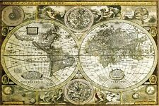 New Historical World Map Map of the World Maxi Poster