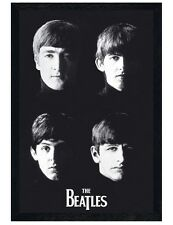 The Beatles Black Wooden Framed Liverpool Lads Maxi Poster 61x91.5cm
