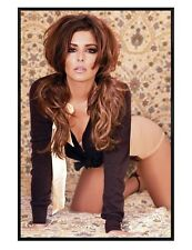 Cheryl Cole Gloss Black Framed Girls Aloud Star Maxi Poster 61x91.5cm