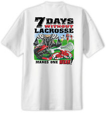 Lacrosse 7 Days Lacrosse T-Shirt Jersey Short Sleeve Tee New Adult & Youth Sizes