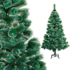 180cm uncommon artificial CHRISTMAS TREE with large pine tips and frost effect!