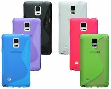 MOBILE PHONE ACCESSORIES Samsung Galaxy Note 4 N910F SOFT CASE COVER RUBBER