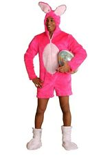 Easter bunny Rabbit fancy dress pink Bachelors farewell sexy Costume new