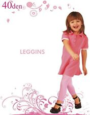 Kids Leggings Leggings opaque 40 den 116 128 140