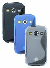 Samsung Galaxy Xcover 2 S7710 Accessories Cover Silicone Rubber + Protector