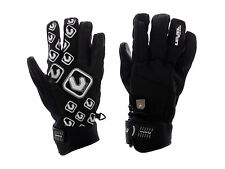 Level Gloves Suburban black Silicone Print Fleece Touch fastener